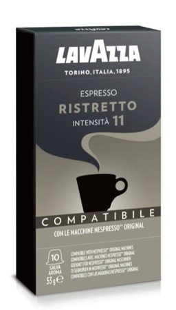 Kapsułki do Nespresso Lavazza Ristretto - 10 sztuk
