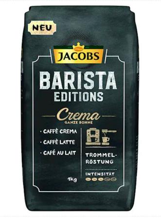 Kawa ziarnista Jacobs Barista Editions Crema 1kg