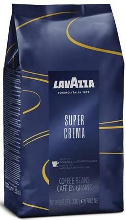 Kawa ziarnista Lavazza Super Crema 1kg