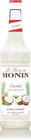 Syrop smakowy MONIN COCONUT - kokosowy 0,7 L